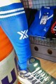 CHAUSSETTES FOOT BOXER BLEUES/BLANCHES