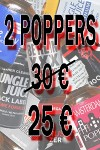 LOT DE 2 POPPERS 24-30 ML
