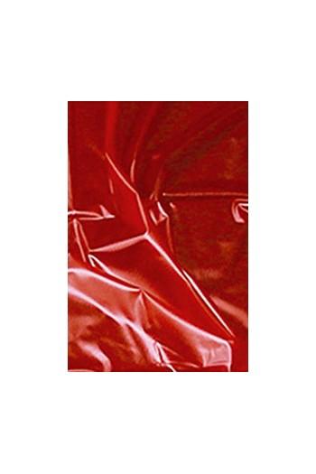 BACHE EN VINYL ROUGE 180 X 260 CM