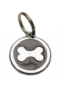 MEDAILLE PUPPY OS BLACK SILVER