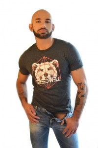 T-SHIRT CAGED BEAR BREEDWELL