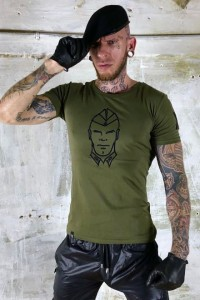 T-SHIRT ARMY BOY KAKI