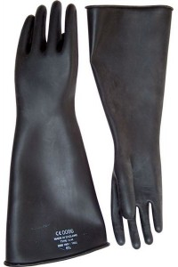 GANTS LATEX LONG EPAIS