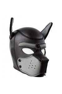 MASQUE PUPPY NEOPRENE NOIR/GRIS