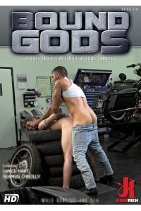 BOUND GODS : A HOT BIKER CAPTURES A HUNG GINGER