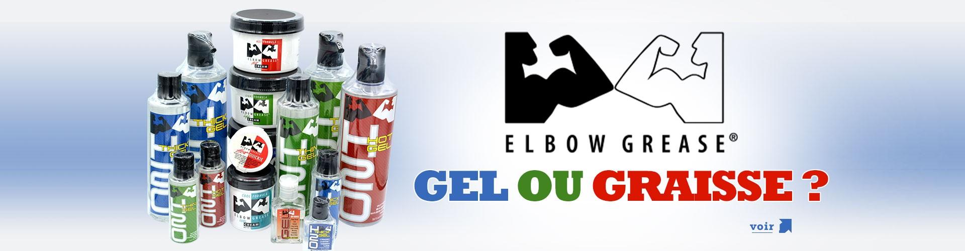 Les Gels et graisses Elbow Grease chez IEM Paris