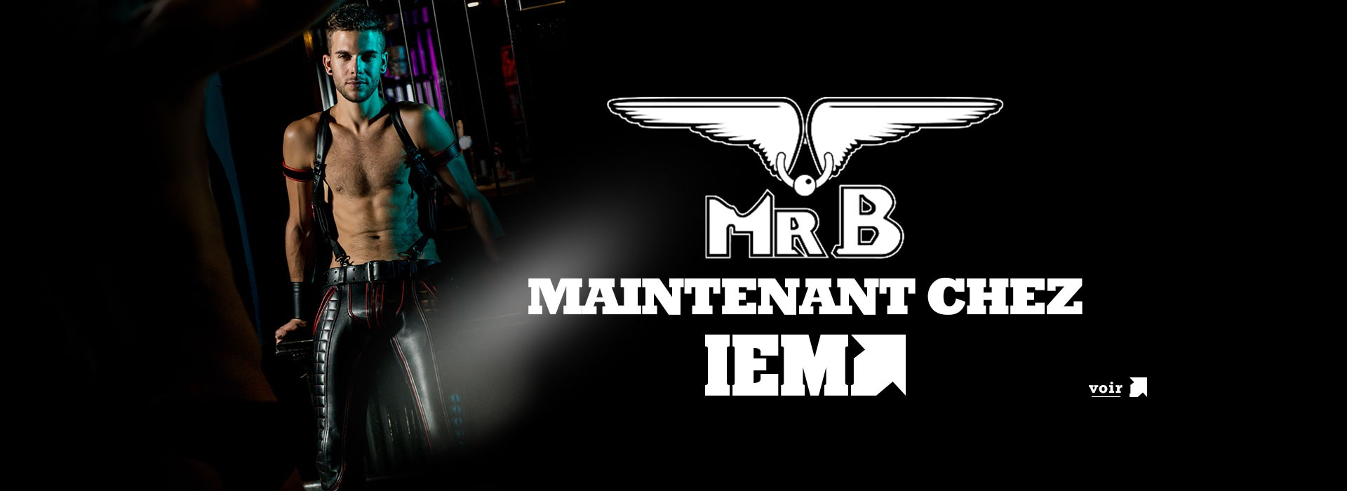 Mister B disponible sur IEM.fr et dans sa boutique de Paris